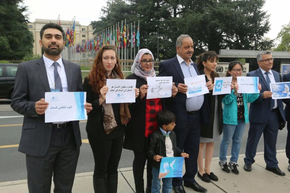 جنيف: نشطاء حقوقيون يطالبون بإنهاء الحرب في اليمن وتمكين السلطة الشرعية