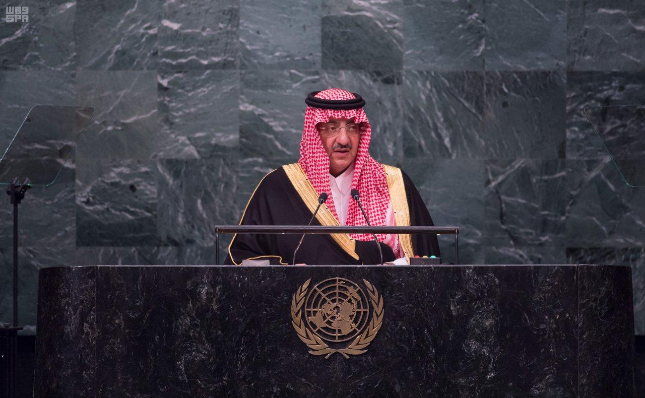 محمد بن نايف: السعودية تدعم مساعي المبعوث الأممي لليمن للتوصل لحل سياسي
