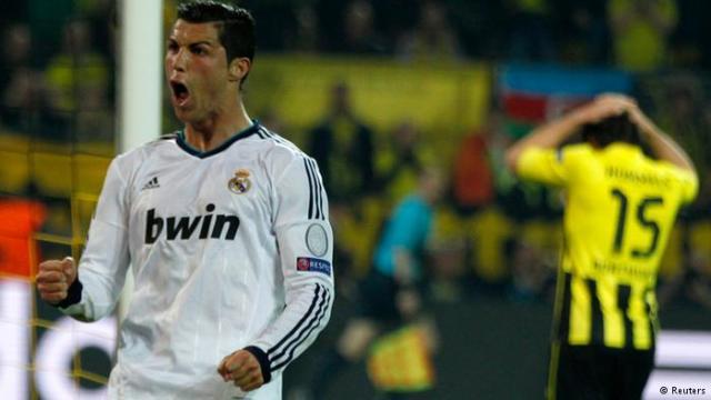 ريال مدريد الإسباني في محاولة جديدة لفك عقدة بروسيا بارك