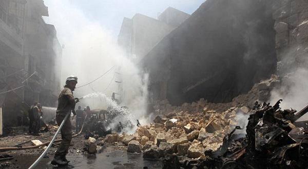 سوريا: مقاتلات النظام وروسيا تواصل غاراتها على حلب لليوم السادس على التوالي