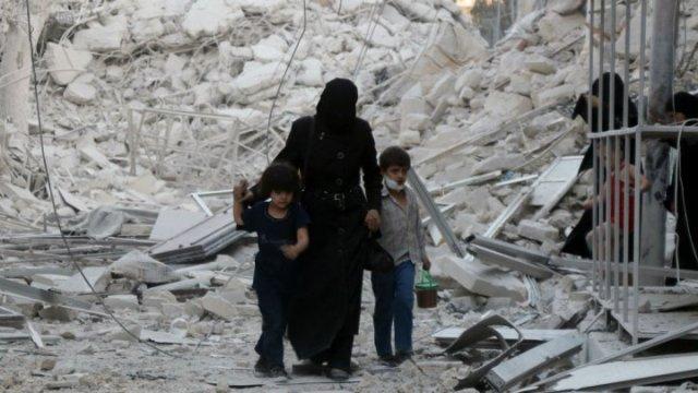 "سوريا: بان كي مون يعتبر استهداف مستشفيات حلب ""جريمة حرب"""