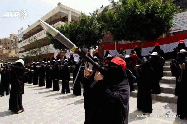"""الحوثيون يحولون مجمعا تربويا في صنعاء إلى معسكر نسائي والأهالي يحملونهم المسئولية ويناشدون """"اليونيسيف"""""""