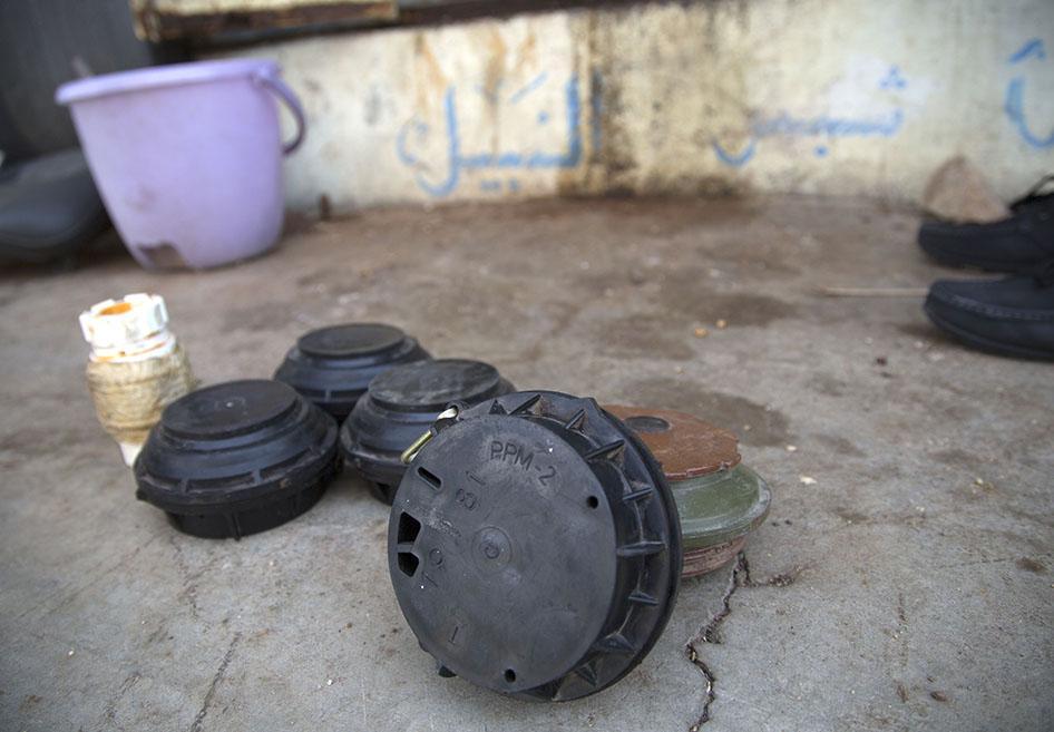 هيومن رايتس ووتش: ألغام الحوثيين تحصد أرواح المدنيين وتعيق عودة النازحين في تعز
