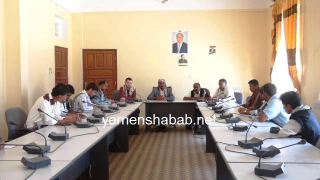 شبوة: السلطة المحلية تعقد لقاء مع الإعلاميين في المحافظة