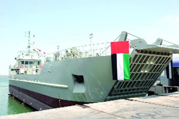 الإمارات تعلن تعرض إحدى سفنها لحادث في باب المندب