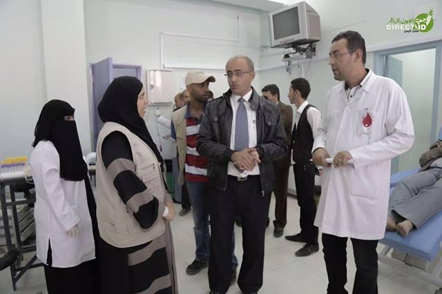 """""""العون المباشر"""" تدعم المركز الوطني لنقل الدم """"صنعاء"""" بـ 7710 قربة دم"""