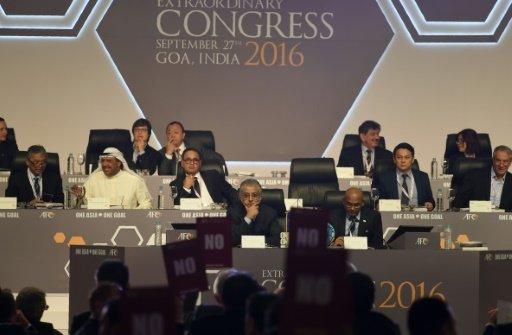 الاتحاد الاسيوي ينتخب 4 اعضاء في مجلس الفيفا في 28 فبراير 2017