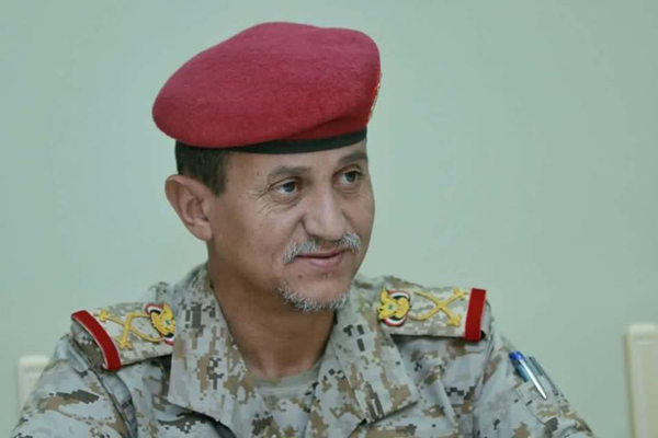 استشهاد اللواء الركن عبدالرب الشدادي قائد المنطقة العسكرية الثالثة بمأرب