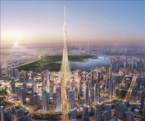 """دبي تدشن أعمال بناء """"أعلى برج في العالم"""" بتكلفة تقارب المليار دولار"""