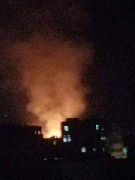 مقاتلات التحالف تشن غارات على معسكرات الحوثيين في العاصمة صنعاء