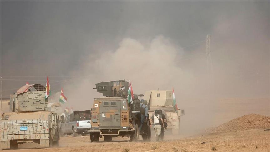 ماذا حققت القوات العراقية في الموصل على الأرض بعد أسبوع ؟