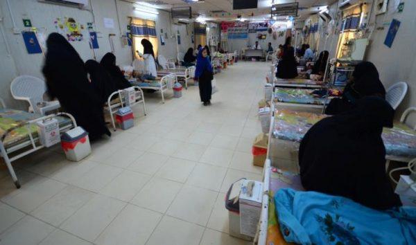 وزير الصحة يدعوا المنظمات الدولية في اليمن الى التدخل السريع لمحاربة وباء الكوليرا