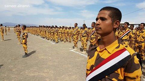 قوات الأمن الخاصة بمأرب تحتفل بتخرج دفعة اللواء عبد الرب الشدادي