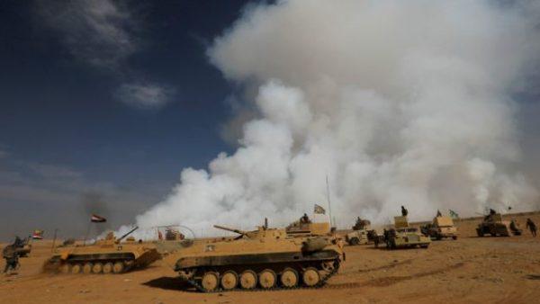 الجيش العراقي يعلن عن اقتحام قضاء الحمدانية شرق الموصل