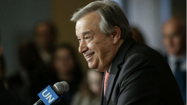 مجلس الأمن يرشح رئيس الوزراء البرتغالي الأسبق غوتيريس أمينا عاما للأمم المتحدة