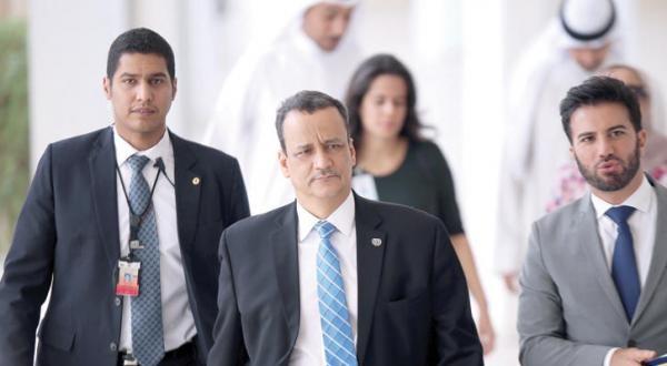"""ولد الشيخ يصل صنعاء لبحث مسودة """"الحل السياسي"""" النهائية وحزب صالح يهاجمه"""