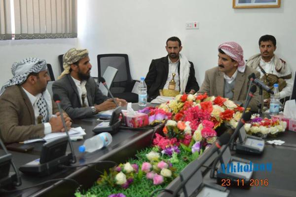 محافظ صنعاء يلتقي ممثلي الهيئة الكويتية للإغاثة لمناقشة إعانة النازحين