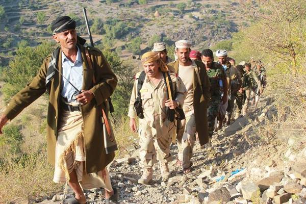 تعز: استمرار المعارك شرق المدينة ومقتل 11 حوثياً خلالها