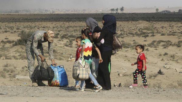 47 ألف نازح عراقي منذ انطلاق عمليات تحرير الموصل