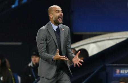 جوارديولا يأمل أن يترك الفوز على برشلونة بصمة تدوم طويلا مع سيتي