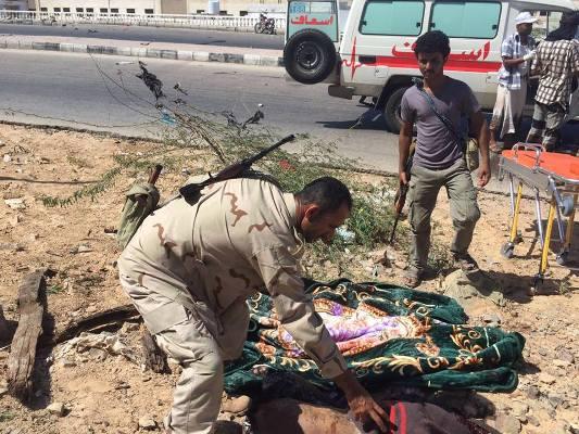 """المنطقة العسكرية الثانية تقول أنها أفشلت تفجير انتحاري بمدينة """"المكلا"""""""
