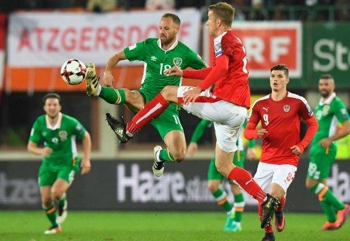 تصفيات مونديال 2018: جمهورية ايرلندا تعمق جراح النمسا وتنفرد بصدارة المجموعة