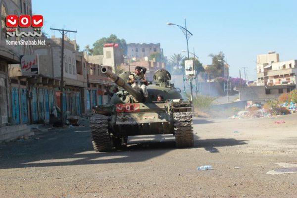 تعز: قوات الجيش الوطني تتصدى لخروقات الميليشيات.. ومقتل 25 حوثياً خلال المواجهات
