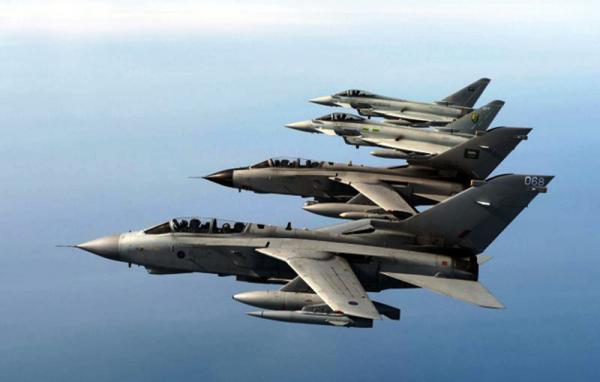 """مأرب: مصرع """"سبعة"""" من مليشيا الحوثي بغارة جوية لطيران التحالف"""
