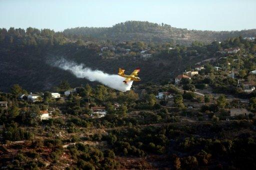 الحرائق في دولة الاحتلال الإسرائيلي تمتد إلى المستوطنات في الضفة الغربية