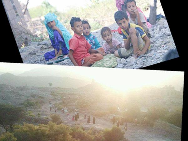 تعز: نزوح عشرات الأسر هربا من قصف المليشيات في مناطق مختلفة من المحافظة
