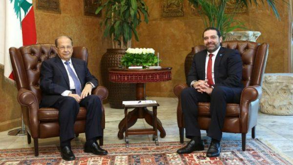ميشال عون يكلف سعد الحريري بتشكيل الحكومة اللبنانية الجديدة