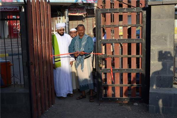 شباب عدن يقيمون المعرض الثقافي الإسلامي بمناسبة المولد النبوي الشريف