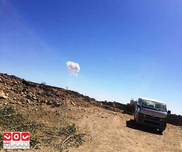 البيضاء: مقاتلات التحالف تشن عدة غارات على مواقع الحوثيين في السوادية