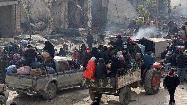 العراق: نزوح 3 آلاف مدني من الموصل خلال ثلاثة أيام