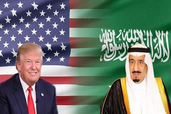 ترمب والملك سلمان يتفقان على إقامة مناطق آمنة في اليمن وسوريا