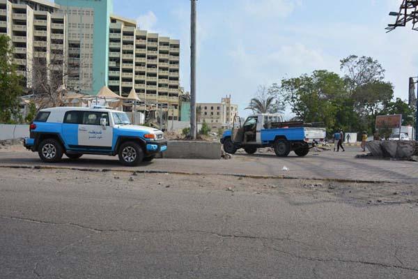أمن عدن يعلن مقتل انتحاري برصاص جنود الأمن في منطقة جولدمور