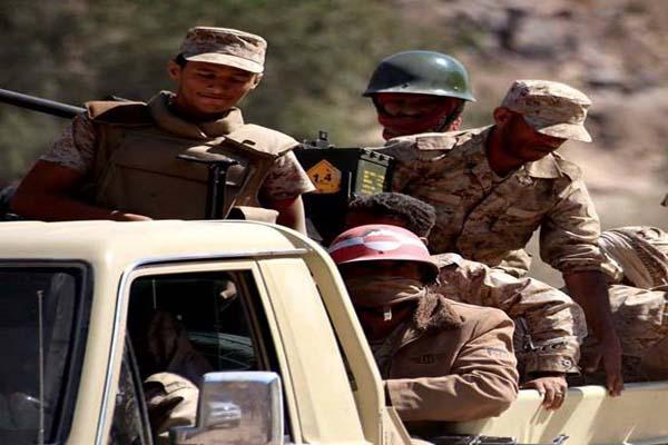 قوات الجيش الوطني تتقدم غرب تعز وتكبد المليشيات الانقلابية 7 قتلى
