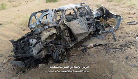 مقتل ستة من مليشيا الحوثي وصالح في غارة للتحالف غرب محافظة شبوة