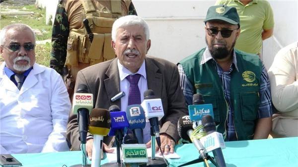 مركز الملك سلمان يدعم مستشفيات عدن ب11 حاوية من الأدوية والأجهزة والمعدات الطبية
