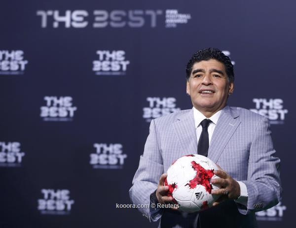 مارادونا: أتمنى لو كان رونالدو أرجنتينيًا