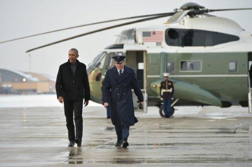 اوباما يغادر البيت الأبيض على وقع تغريدات ترامب اللاذعة