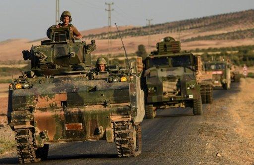 التحالف الدولي يشن للمرة الاولى غارات في شمال سوريا دعما للعملية التركية