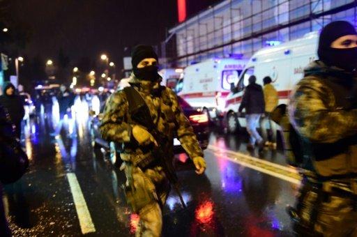 39 قتيلا في اعتداء على ملهى ليلي خلال احتفالات راس السنة في اسطنبول