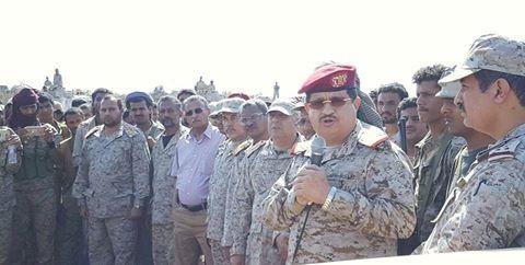 رئيس هيئة الأركان يصل جبهة ميدي للإطلاع على الوضع الميداني
