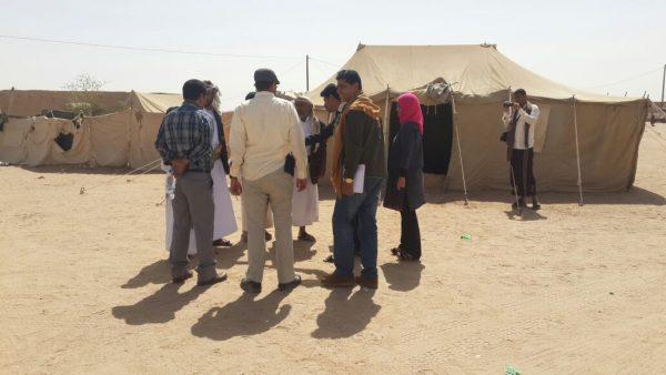 اللجنة الوطنية للتحقيق تبدأ زياراتها الميدانية إلى مديريات محافظة الجوف