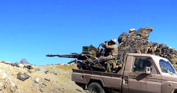 الجيش الوطني يحرز تقدماً جديداً في جبهة نهم شرقي صنعاء