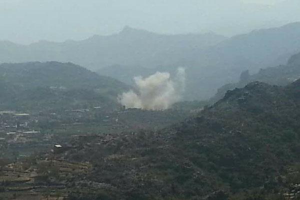 كمائن المقاومة تفتك بالحوثيين بعتمة وهم ينتقمون بتفجير منازل المواطنين
