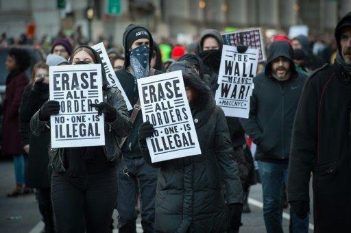 مدن أميركية تعيش على وقع تظاهرات منذ تنصيب ترامب