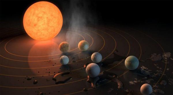"""""""ناسا"""" تعلن اكتشاف 7 كواكب جديدة"""
