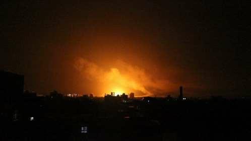 مقاتلات التحالف العربي تشن سلسلة غارات على مواقع في صنعاء ومحيطها
